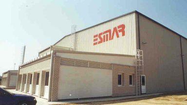 01.ESMAR (GESTAMP), Gyártócsarnok kialakítása I