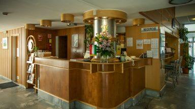 12.Hotel Panoráma - Recepció