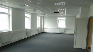 C Épület, iroda a második emeleten