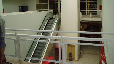 Lift és mozgólépcső, eredeti állapot, 1999