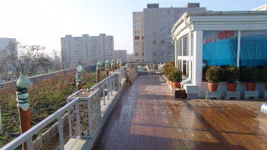 Tetőterasz átépítés után, 2005